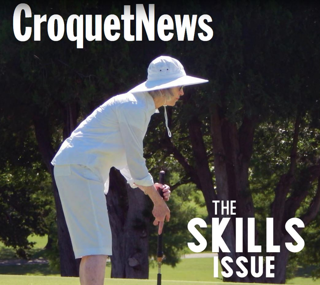 USCA Croquet News Cover Features Judy McKeon