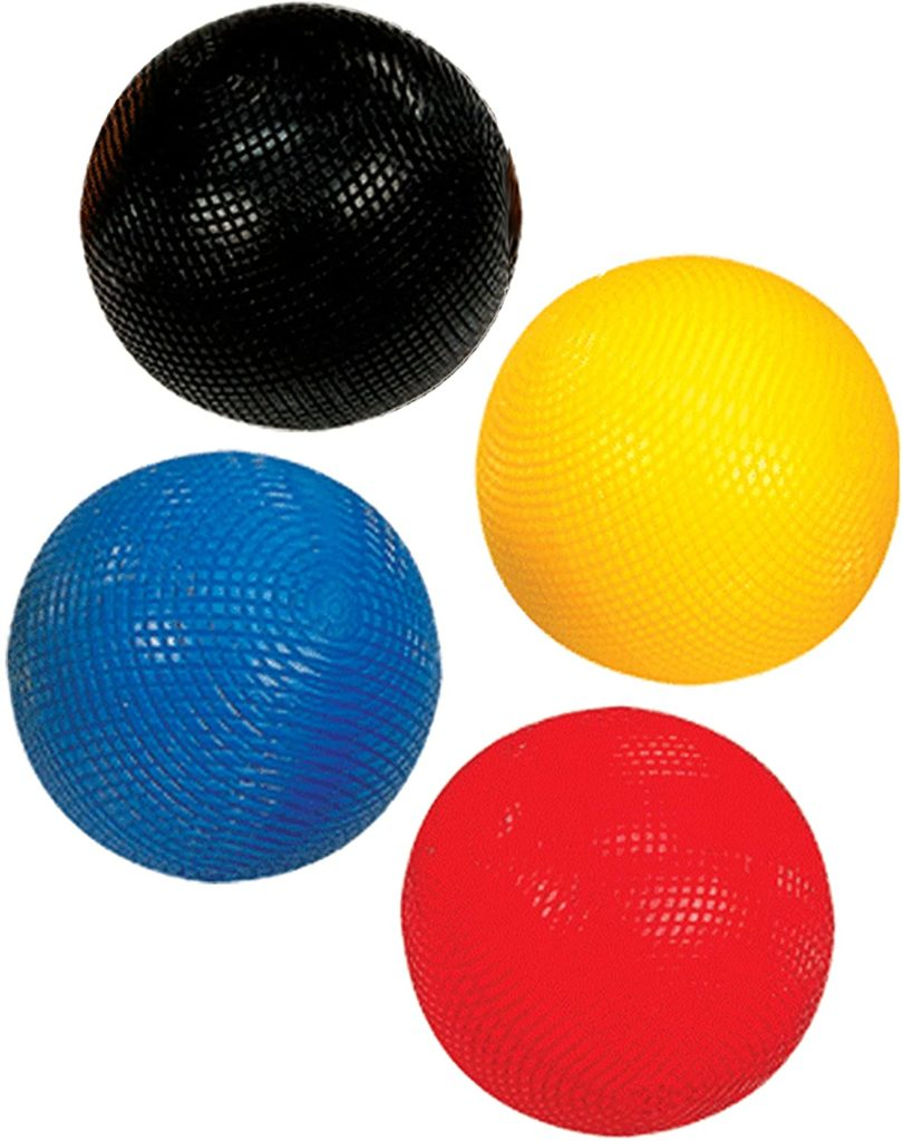 birds eye view of balls