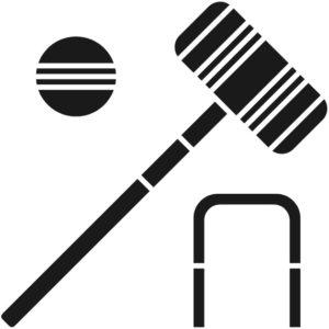 black croquet icon
