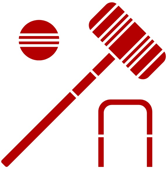 red croquet icon