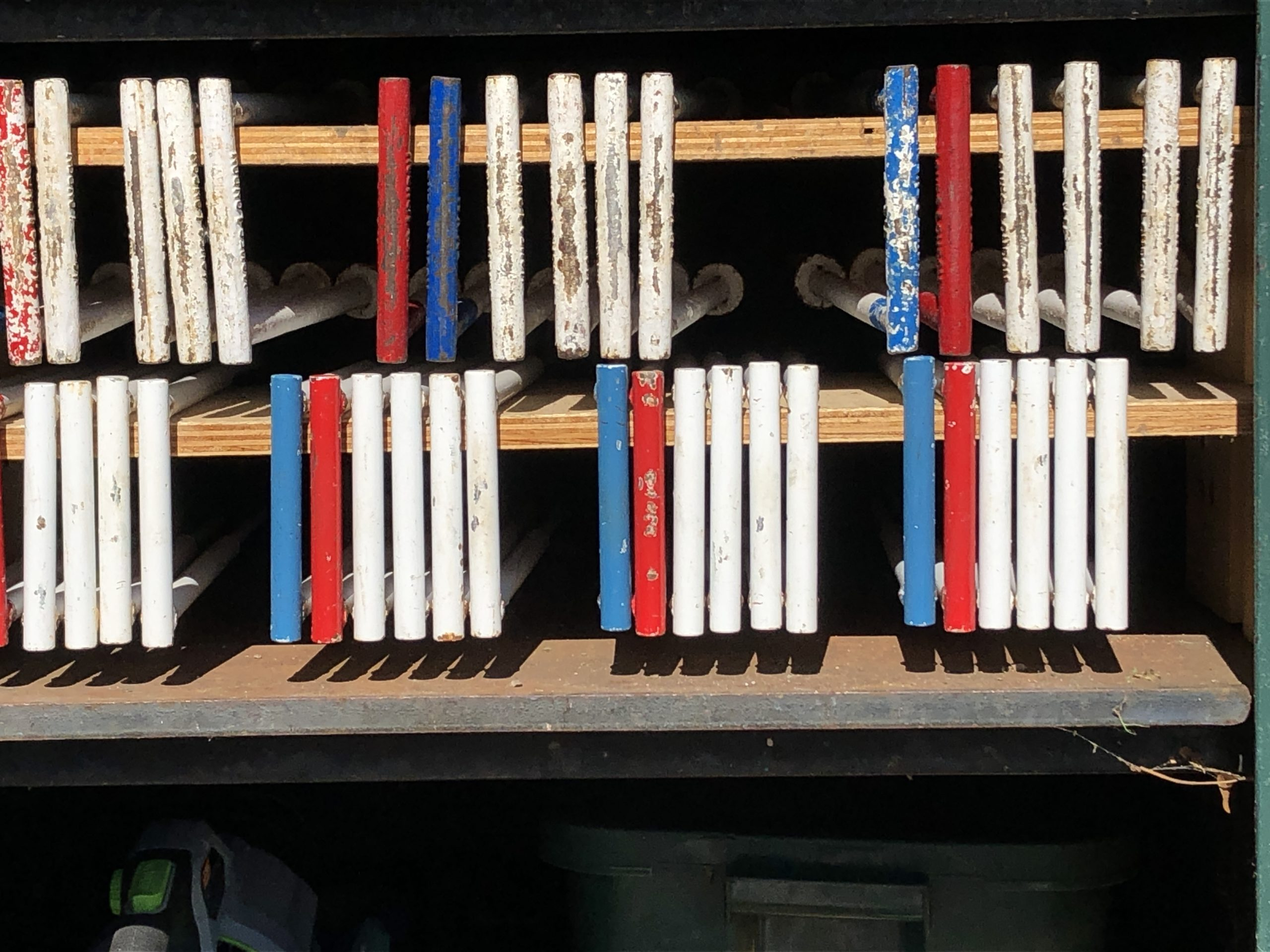 Wickets in a row