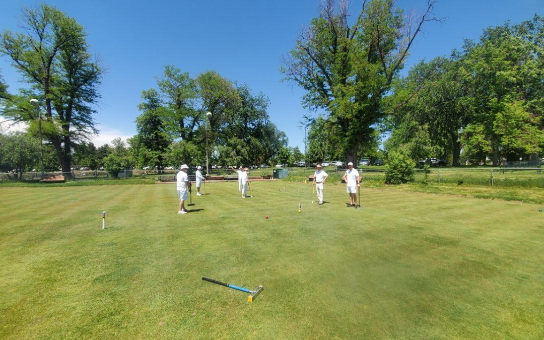 Golf Croquet Spring Tournament Winner